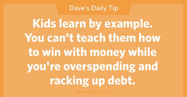 Raha kasutusest Dave Ramsey